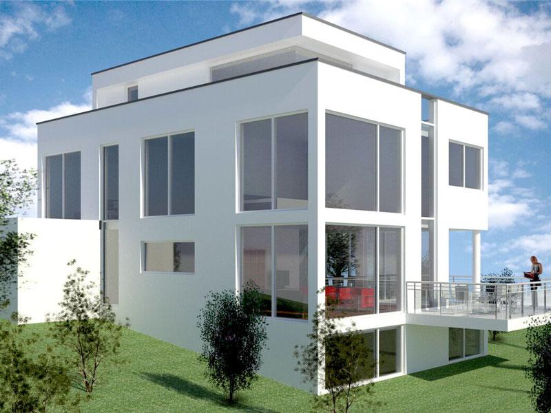 errichtung eines einfamilienhaus mit einliegerwohnung. Black Bedroom Furniture Sets. Home Design Ideas